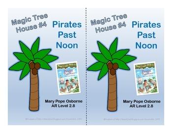 Magic Tree House #4 Pirates Past Noon