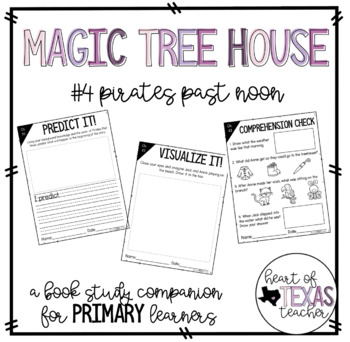 Magic Tree House #4 Pirates Past Noon {A Book Study Companion for K/1/2}