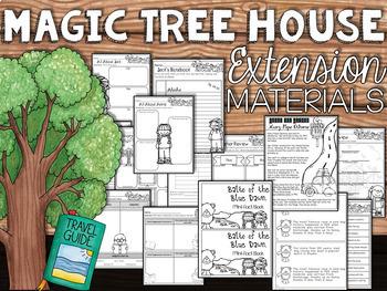 Magic Tree House 41-50 Guided Reading Novel Unit Bundle
