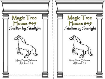 Magic Tree House #49 Stallion By Starlight