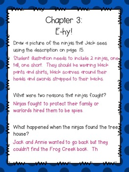 Magic Tree House # 5 Night of the Ninjas