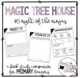 Magic Tree House #5 Night of the Ninjas {A Book Study Companion for K/1/2}