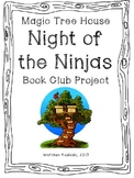 Magic Tree House #5 Night of the Ninjas Book Club Project/Questions