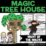 Magic Tree House #5 Night of the Ninjas Book Questions