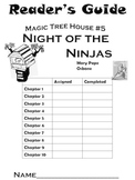Magic Tree House #5 Night of the Ninjas Reader's Guide