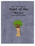 Magic Tree House #5 Night of the Ninjas comprehension questions
