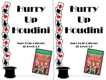 Magic Tree House #50 Hurry Up Houdini