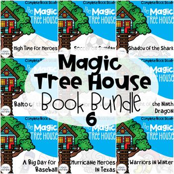 Magic Tree House 51-55 Comprehension Unit Bundle