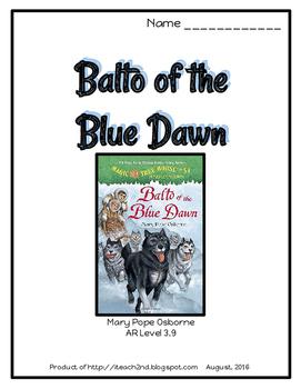 Magic Tree House #54 Balto of the Blue Dawn