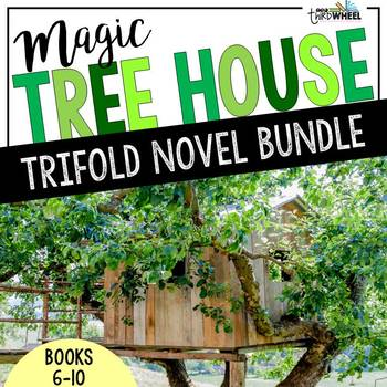 Magic Tree House Foldable Novel Study Units Bundle: Books 6-10