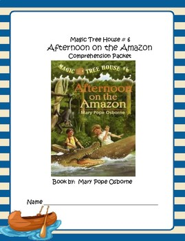 Magic Tree House #6 Afternoon on the Amazon