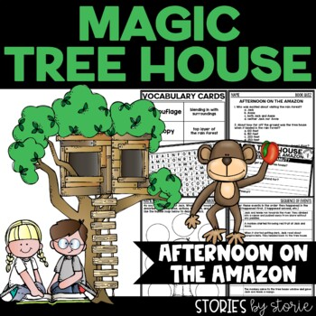Magic Tree House #6 Afternoon on the Amazon Book Questions