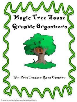 Magic Tree House - 6 Graphic Organizers