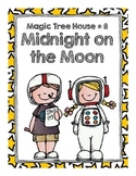 Magic Tree House  # 8 Midnight on the Moon Comprehension Q