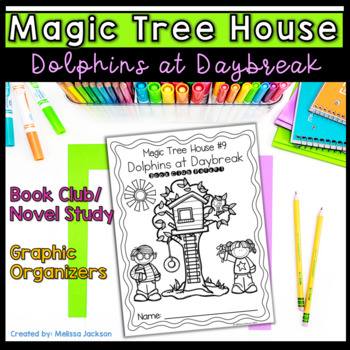 Magic Tree House #9 Dolphins at Daybreak Book Club Packet
