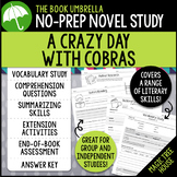 A Crazy Day with Cobras Novel Study - Magic Tree House