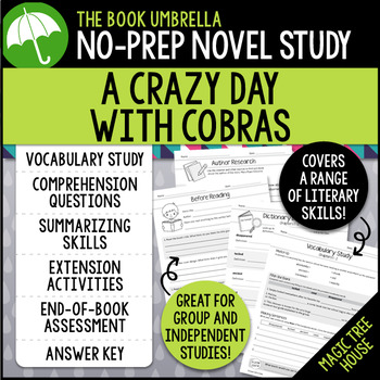 A Crazy Day with Cobras - Magic Tree House