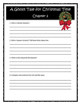 Magic Tree House A GHOST TALE FOR CHRISTMAS TIME Comprehension & Citing Evidence