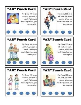 Magic Tree House AR Punch Card