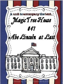 Magic Tree House: Abe Lincoln at Last!