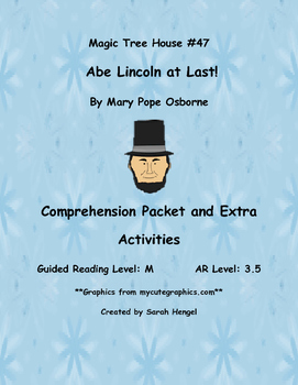 Magic Tree House: Abe Lincoln at Last! by Mary Pope Osborn