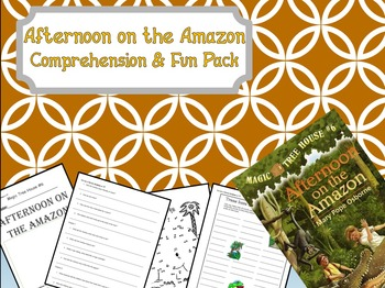 Magic Tree House Afternoon on the Amazon #6