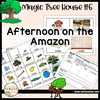 Magic Tree House Afternoon On The Amazon 6 By Cathy Collier The