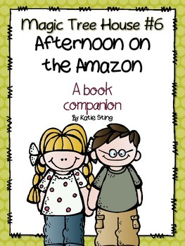 Magic Tree House: Afternoon on the Amazon Book Study