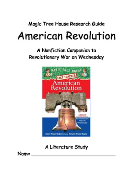 Magic Tree House... American Revlution -- A Literature Study