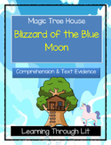 Magic Tree House BLIZZARD OF THE BLUE MOON Comprehension & Citing Evidence