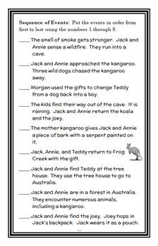 Magic Tree House BUNDLE - 4 Novel Studies : Books #17 through #20   (109 pages)