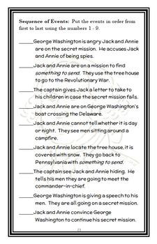 Magic Tree House BUNDLE - 4 Novel Studies : Books #21 through #24   (112 pages)