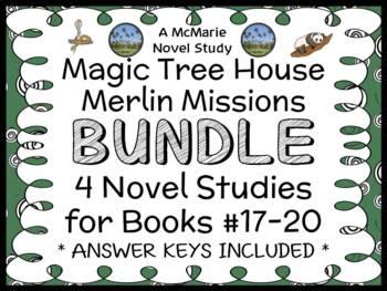 Magic Tree House BUNDLE - 4 Novel Studies : Books #45 thro
