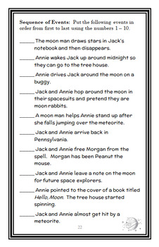 Magic Tree House BUNDLE - 4 Novel Studies : Books #5 through #8   (109 pages)