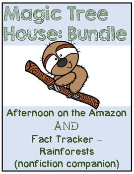 Magic Tree House BUNDLE Afternoon on the Amazon / Rainforests - Study Guide