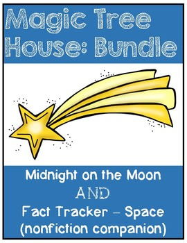Magic Tree House BUNDLE Midnight on the Moon / Space / Planets - Study Guide