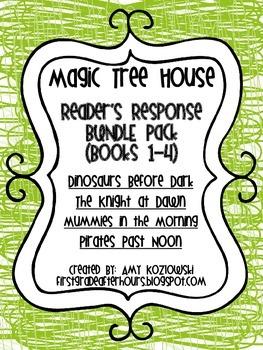 Magic Tree House BUNDLE PACK (books 1-4)