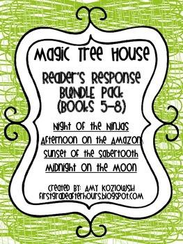 Magic Tree House BUNDLE PACK (books 5-8)
