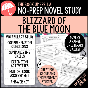 Blizzard of the Blue Moon - Magic Tree House