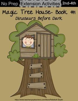 Dinosaurs Before Dark Activities