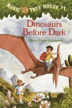 Magic Tree House Book #1 Dinosaurs Before Dark