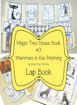 Magic Tree House Book #3 Mummies in the Morning