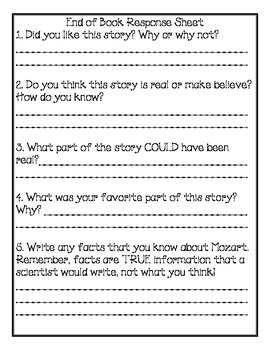 Magic Tree House Book #41 Comprehension Packet