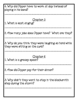 Magic Tree House Book #42 Comprehension Packet