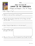 Magic Tree House Book 7 Sunset of the Sabertooth Independe