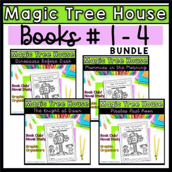 Magic Tree House Book Club Bundle (Books 2-4)
