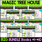 Magic Tree House Book Club Packets - Big Bundle - Books #2-#10