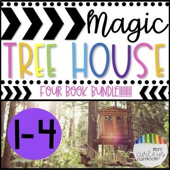 Magic Tree House Book Companion BUNDLE Books 1-4