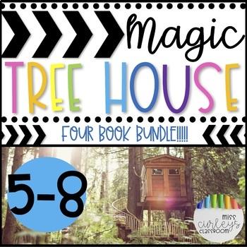 Magic Tree House Book Companion BUNDLE Books 5-8