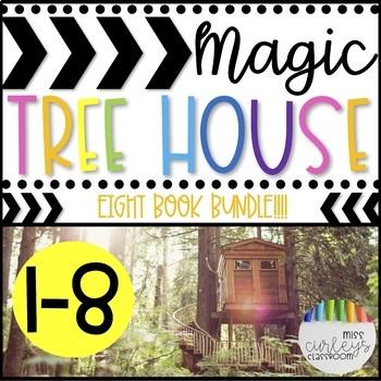 Magic Tree House Book Companion MEGA BUNDLE Books 1-8